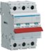 SBR340 3P 40A Switch , Red Toggle