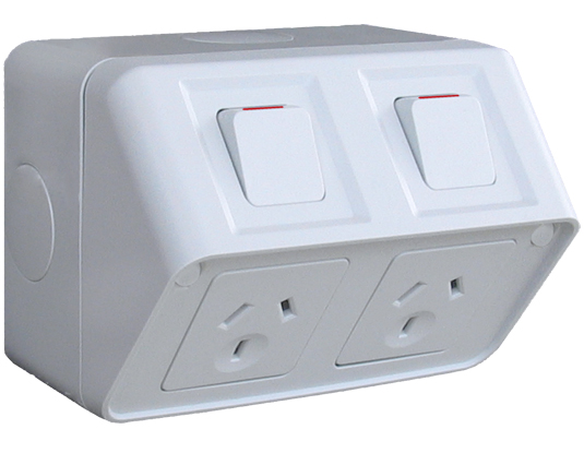 WBWP2S - Double Socket 10A