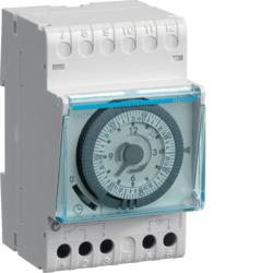 Hager Tagesschaltuhr EH710 IP20 analog Tagesschaltuhr