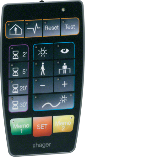 EE807 Remote control settings presence det.
