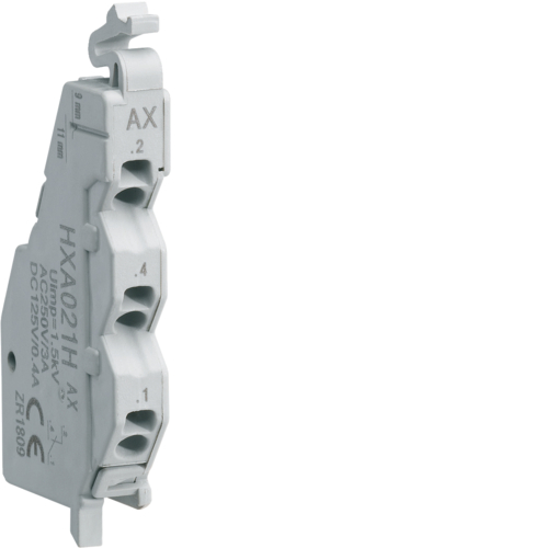 HXA021H AX contact 1NO+NC 250VAC (x/P160-x/P250)