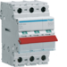 SBR364 3P 63A Switch , Red Toggle